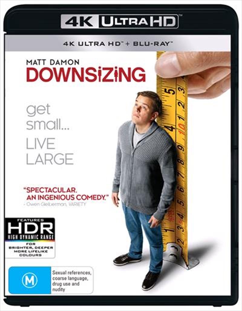 Downsizing | Blu-ray/Digital/Hd