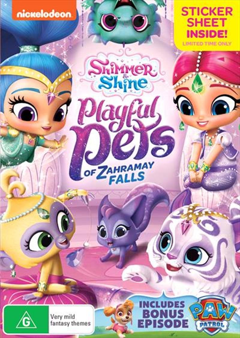 Shimmer And Shine - Playful Pets Of Zahramay Falls | DVD
