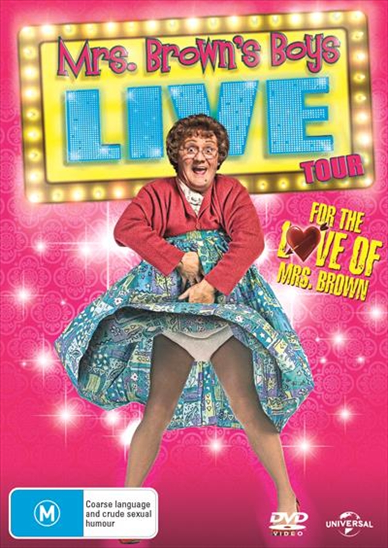 For The Love Of Mrs. Brown | DVD