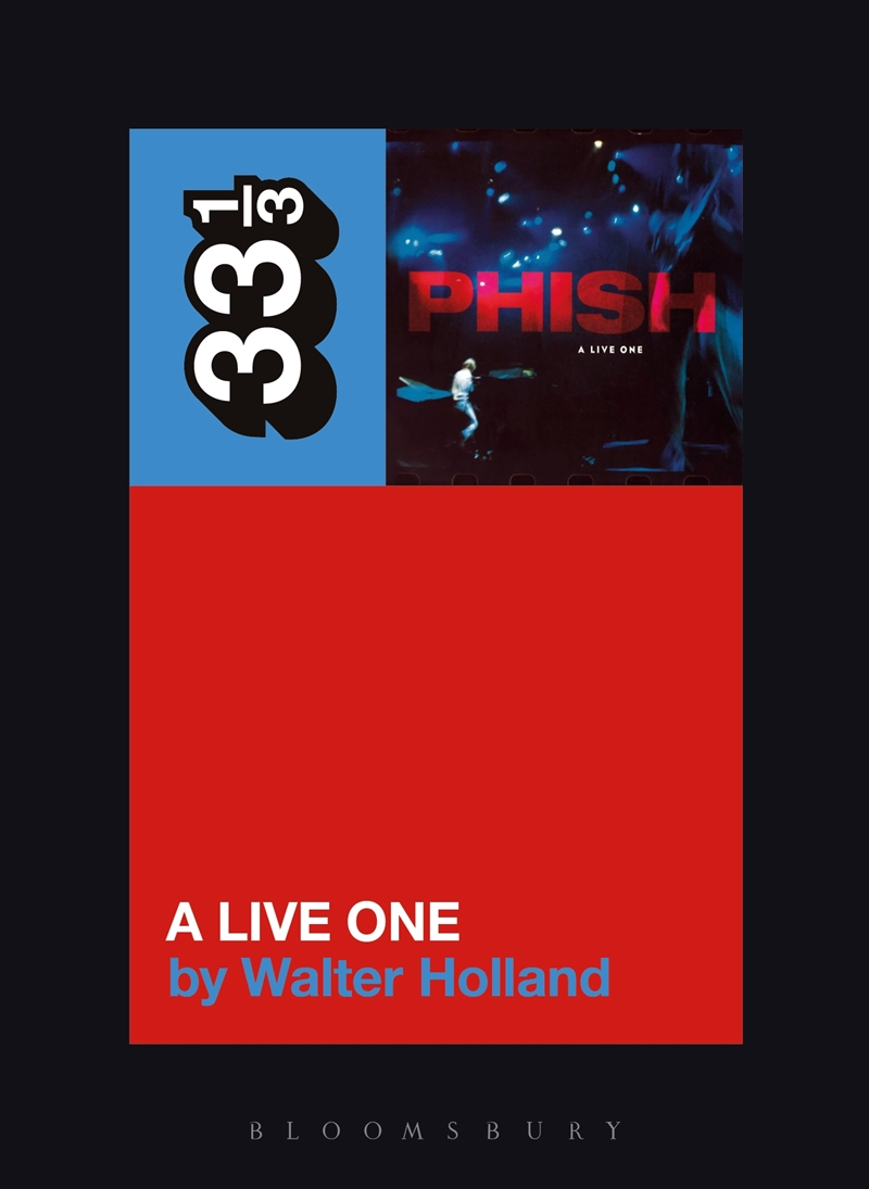 Phish's A Live One | Paperback Book