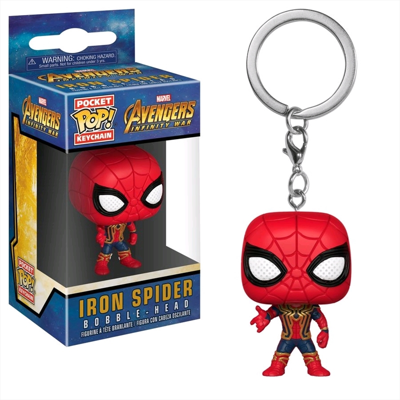 Avengers 3: Infinity War - Iron Spider Pocket Pop! Keychain | Accessories