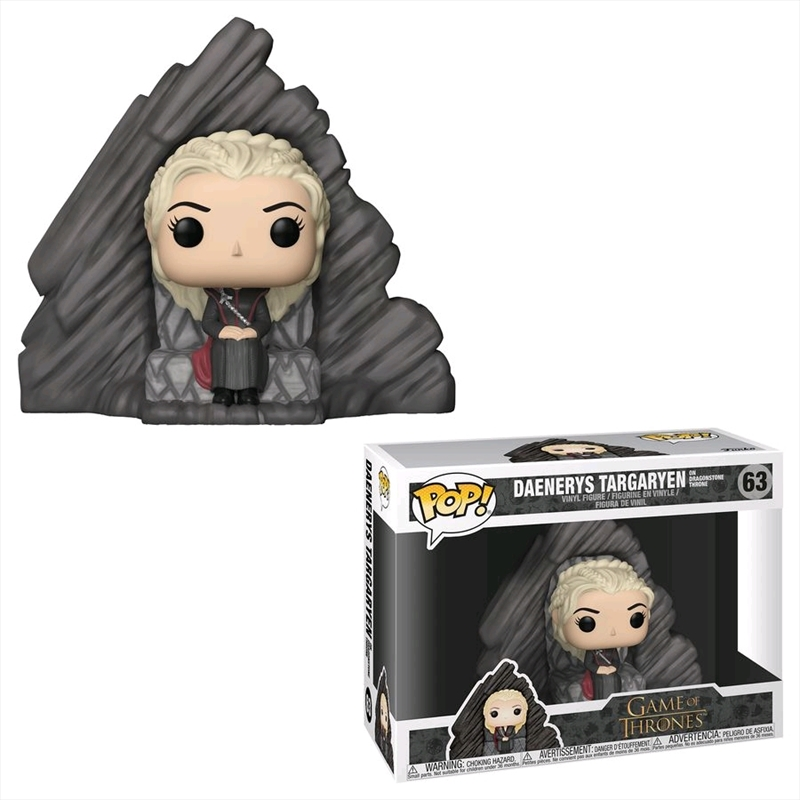 Game of Thrones - Daenerys Targaryen Dragonstone Throne Pop! Ride   Pop Vinyl