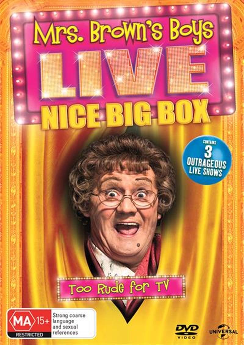 Mrs. Browns Boys - Live Nice Big Box | DVD