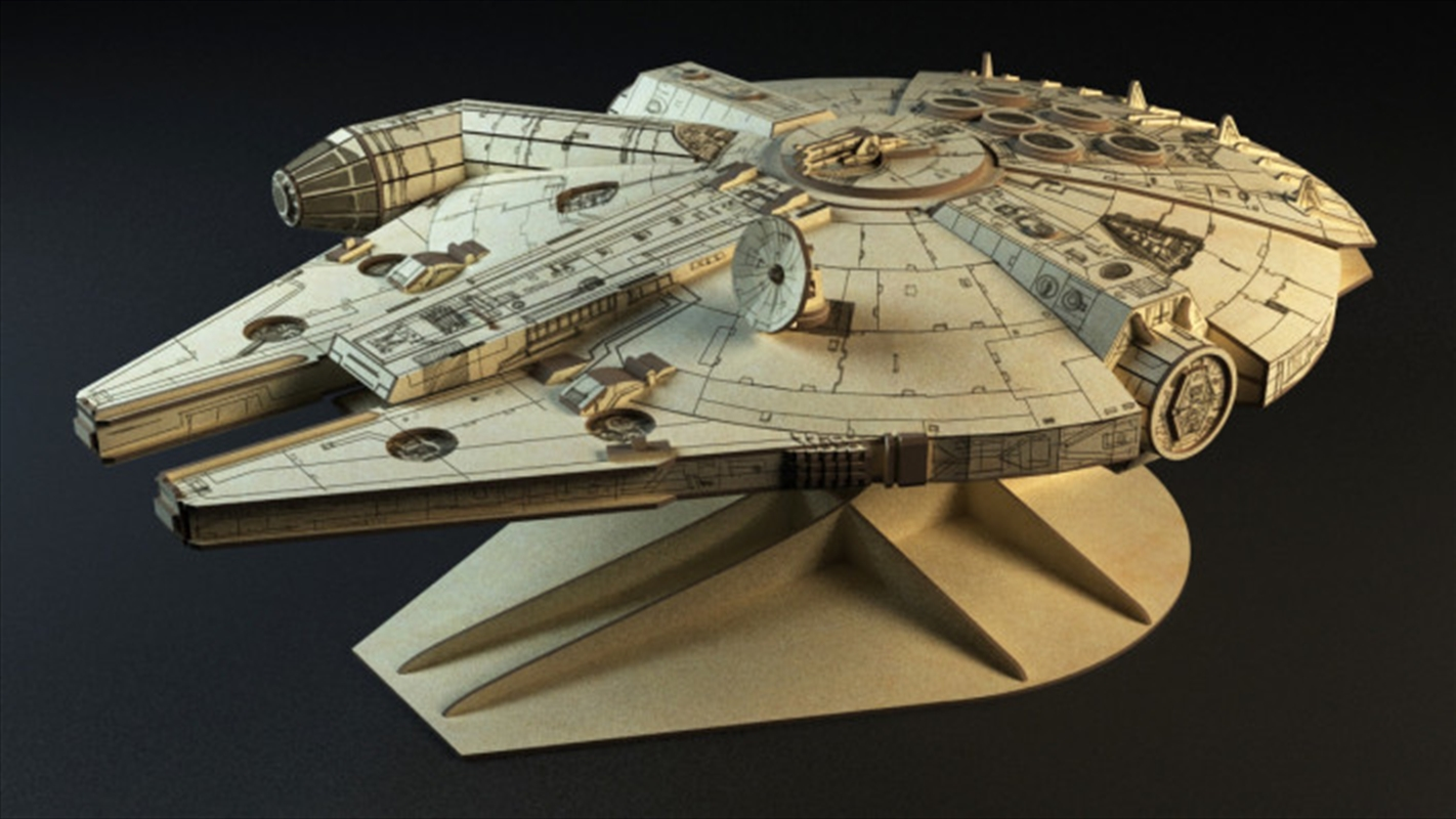 "Incredibuilds Star Wars Millennium Falcon Collectors Edition Book And Model 18"" | Merchandise"
