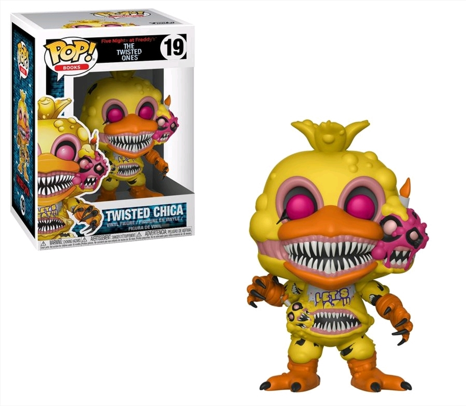 Five Nights at Freddy's - Twisted Ones - Twisted Chica | Pop Vinyl
