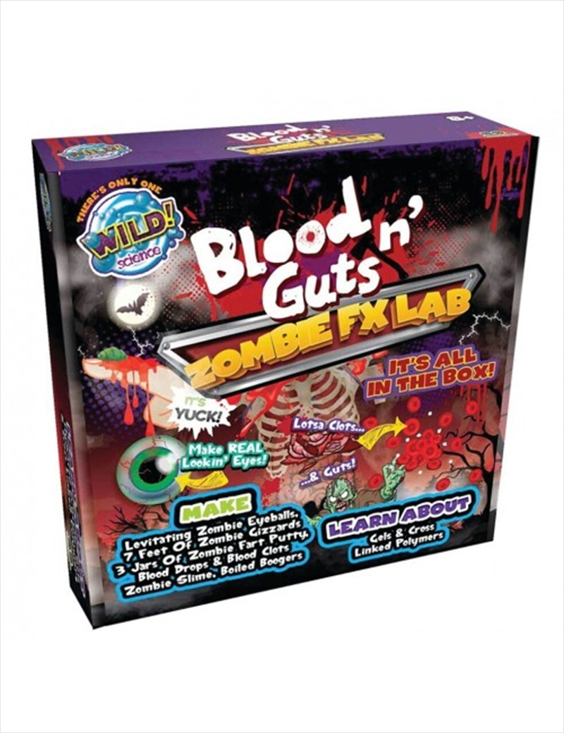 Zombie Blood And Guts FX Lab | Toy