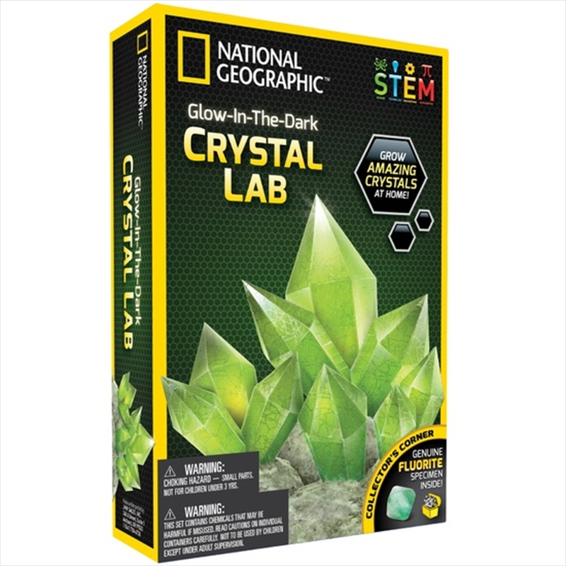 Glow In The Dark Crystal Lab | Toy