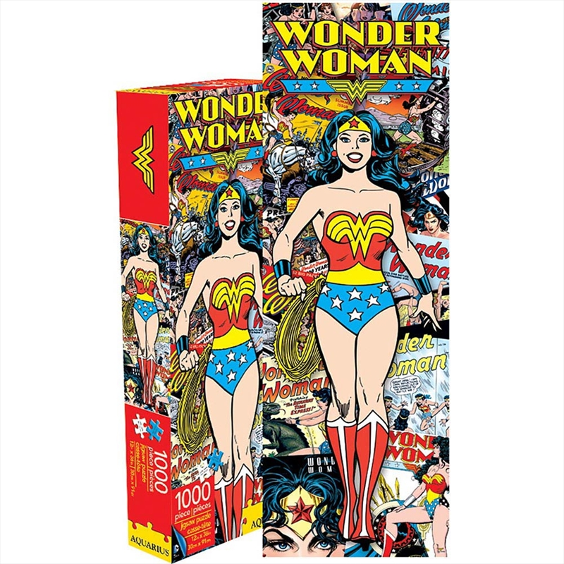 Wonder Woman Retro 1000pc Slim Puzzle | Merchandise