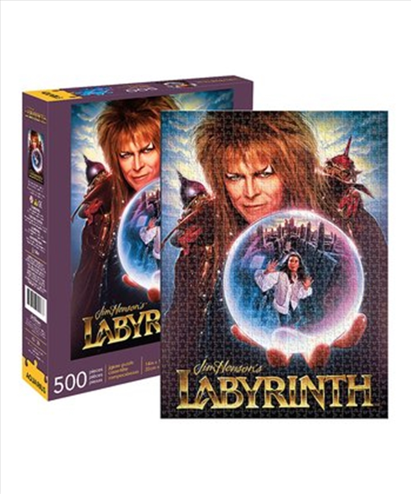 Jim Henson's Labyrinth 500pc Puzzle | Merchandise
