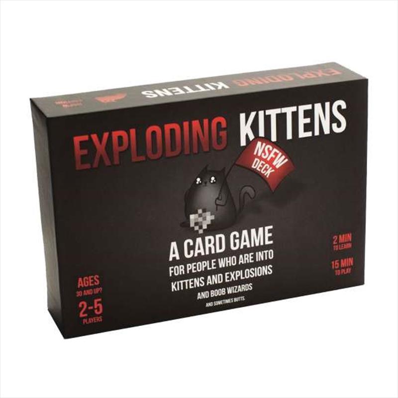 Exploding Kittens NSFW Edition | Merchandise