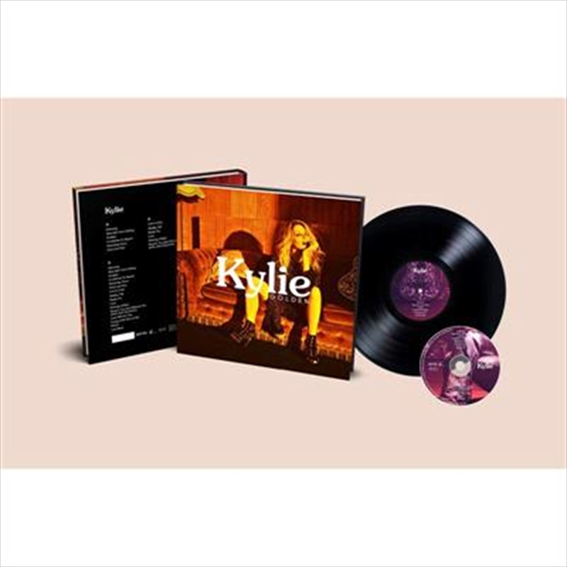 Golden - Super Deluxe (Vinyl + CD + Hardcover Book)   Vinyl
