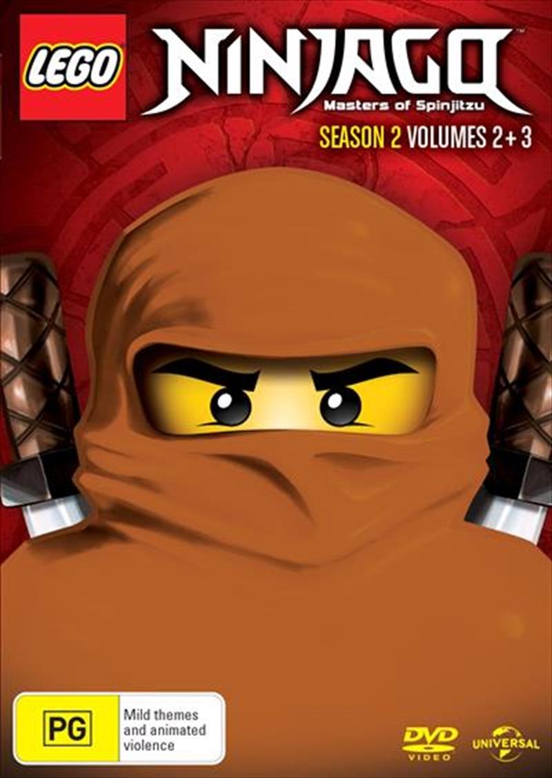 LEGO Ninjago - Masters of Spinjitzu - Season 2 - Vol 2-3 | DVD
