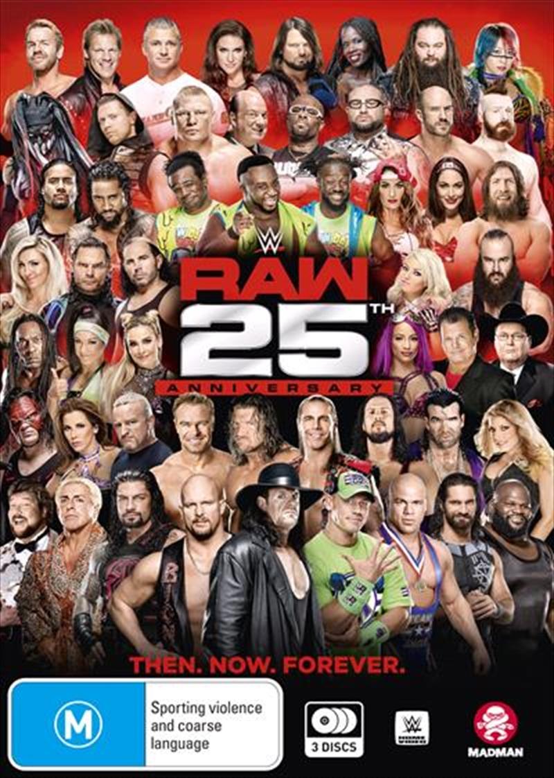 WWE - Raw - 25th Anniversary Edition   DVD
