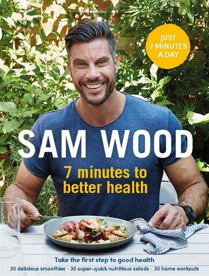 7 Minutes To Better Health | Paperback Book