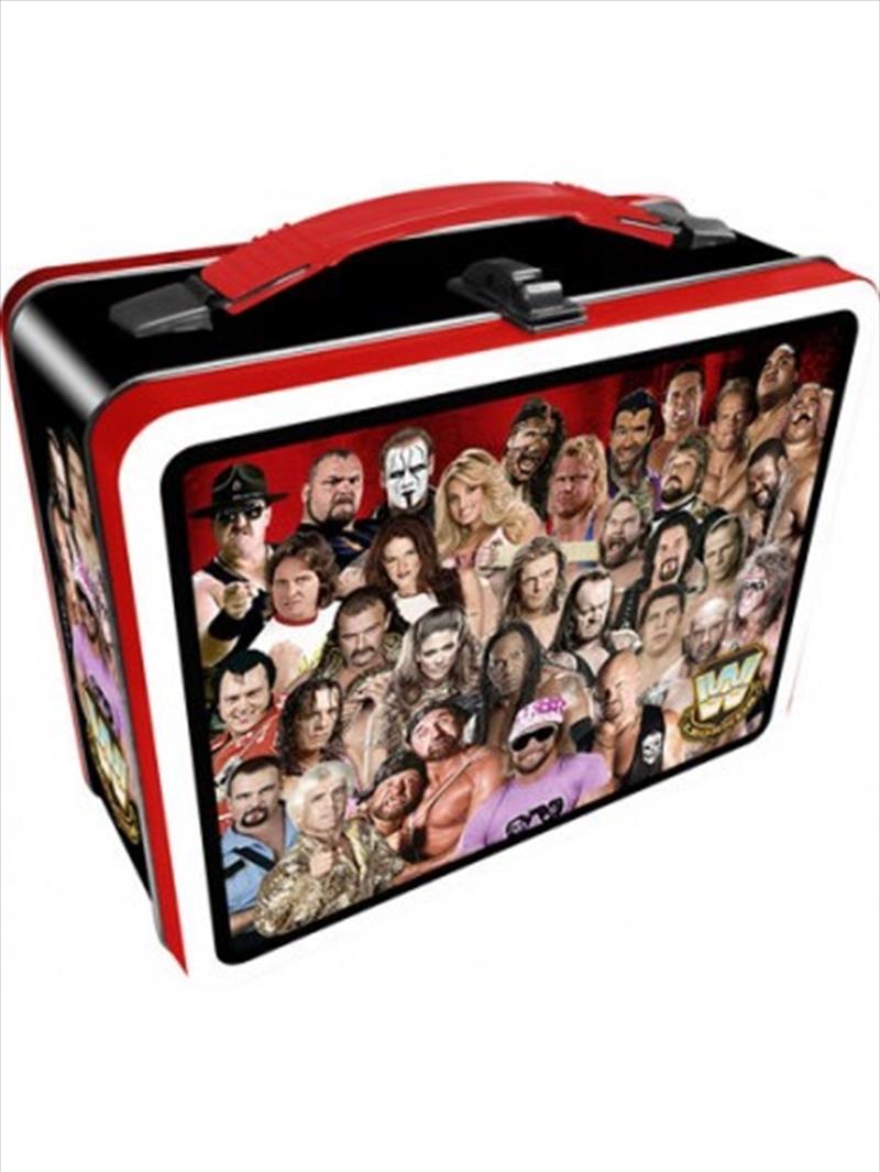 WWE Legends Tin Carry All Fun box | Lunchbox