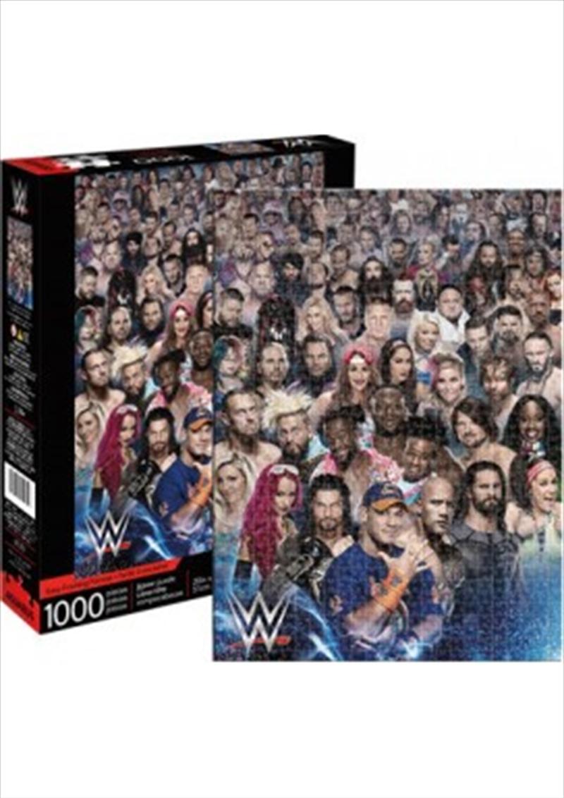 WWE Cast 1000pc Puzzle | Merchandise