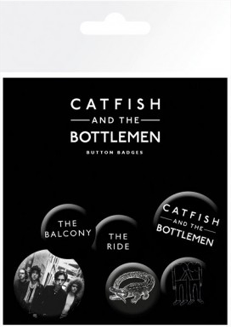 Catfish and the Bottlemen Badge 6 Pack | Merchandise