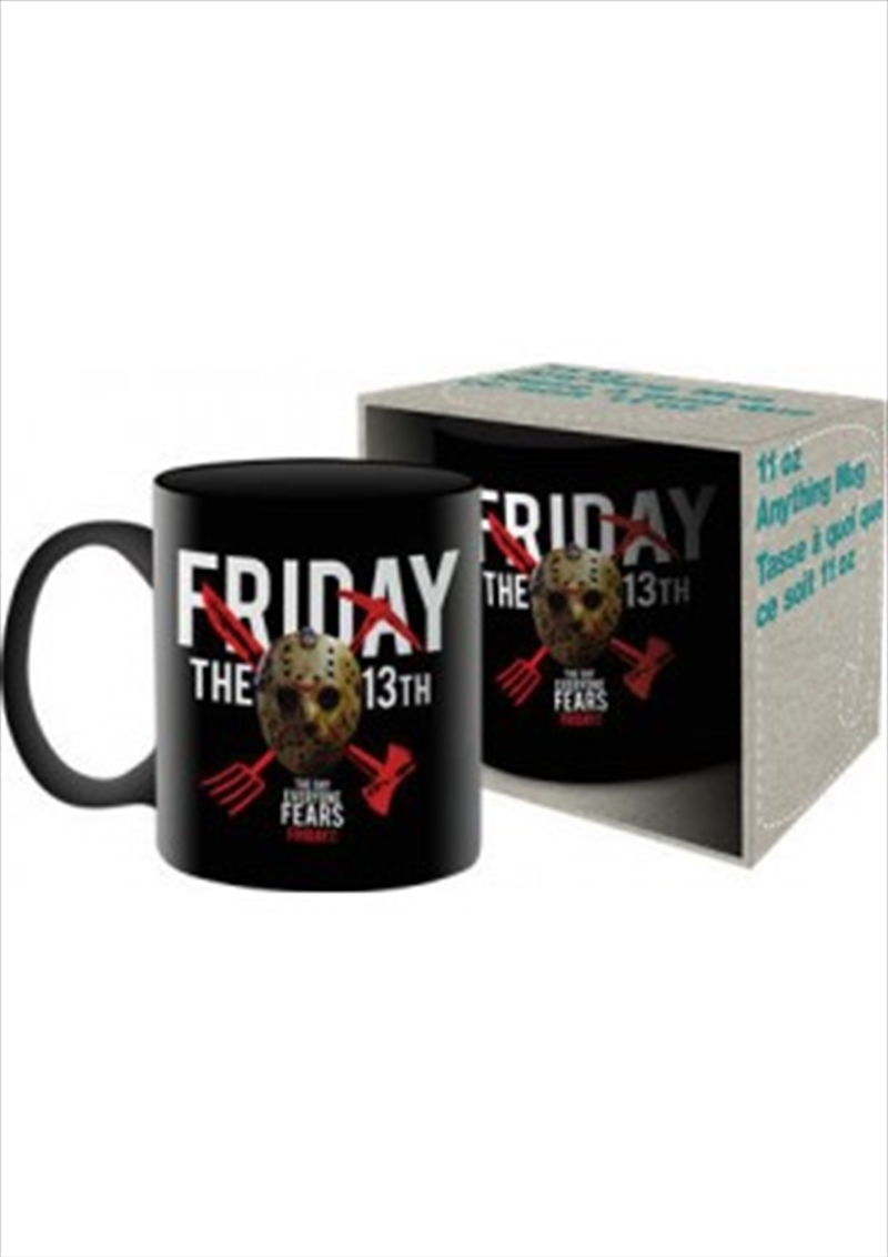 Friday the 13th Mask Mug | Merchandise
