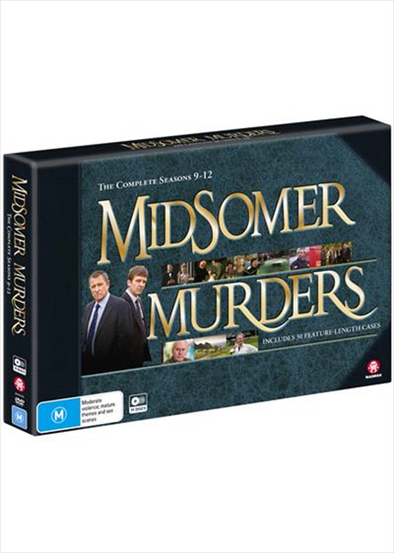 Midsomer Murders - Season 9-12 - Limited Edition | DVD