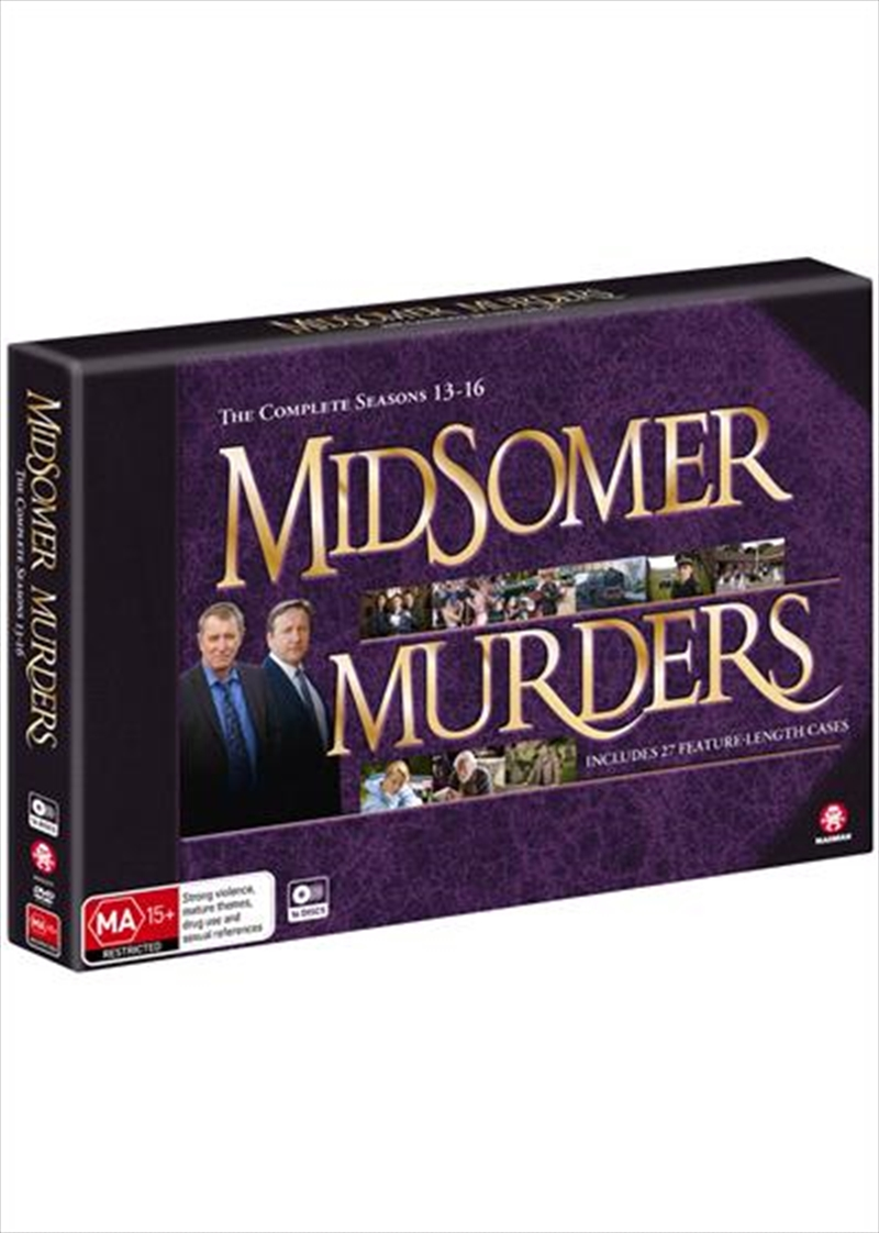 Midsomer Murders - Season 13-16 - Limited Edition   DVD