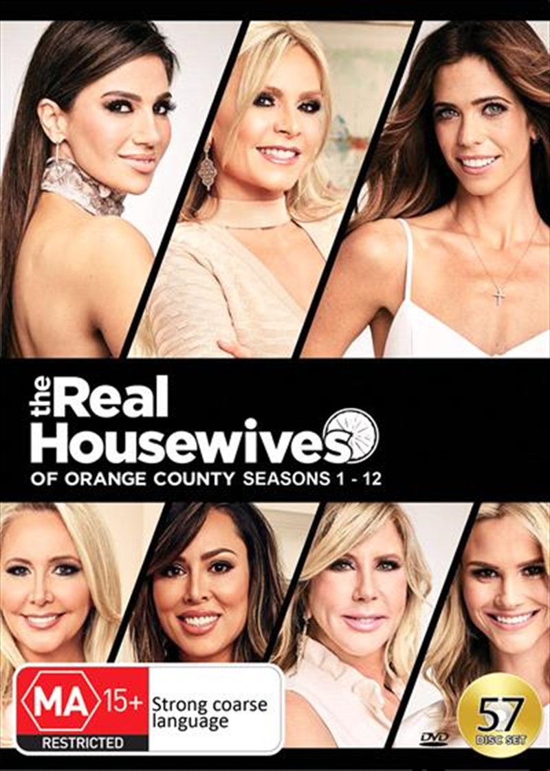 Real Housewives Of Orange County - Season 1-12, The | DVD