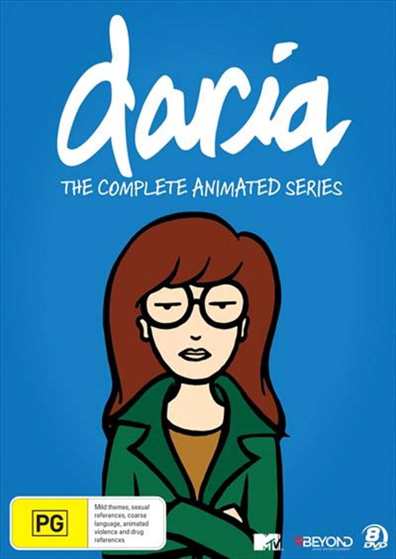 Daria - The Complete Animated Series | Collector's Gift Set | DVD