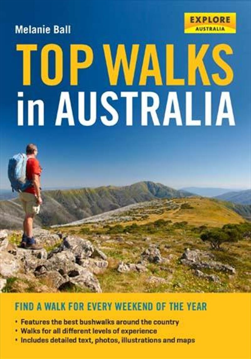 Top Walks in Australia   Paperback Book
