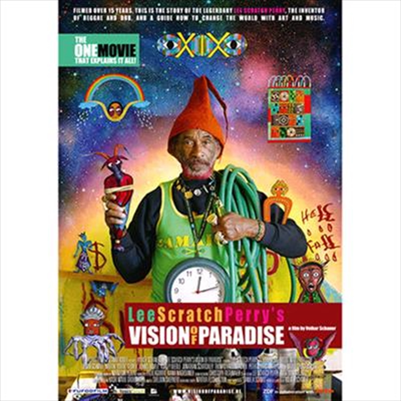 Lee Scratch Perry- Lee Scratch Perry's Vision Of Paradise [pal] | DVD