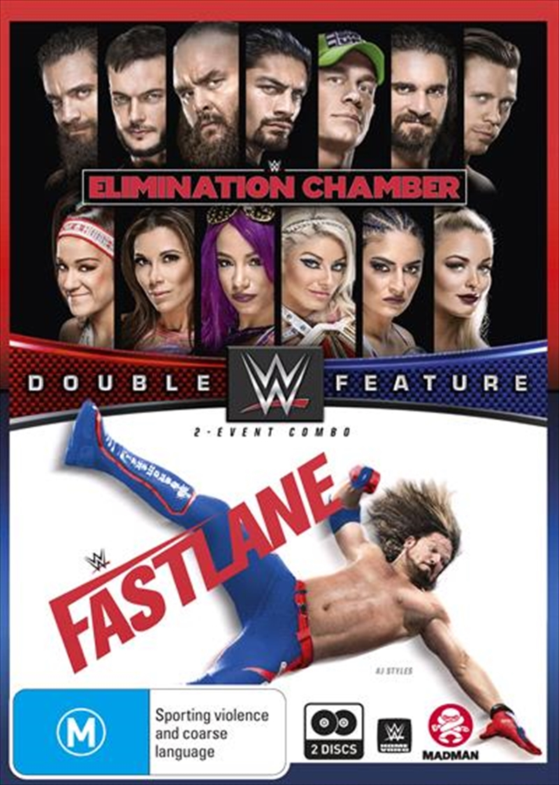 WWE - Elimination Chamber 2018 / Fast Lane 2018 | DVD