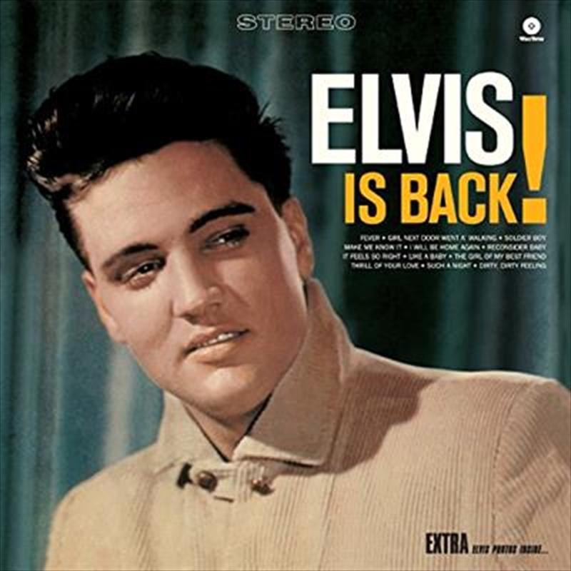 Elvis Is Back! (Bonus Tracks: Gatefold Edition) | Vinyl