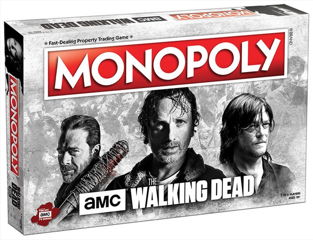 Walking Dead Amc Monopoly | Merchandise