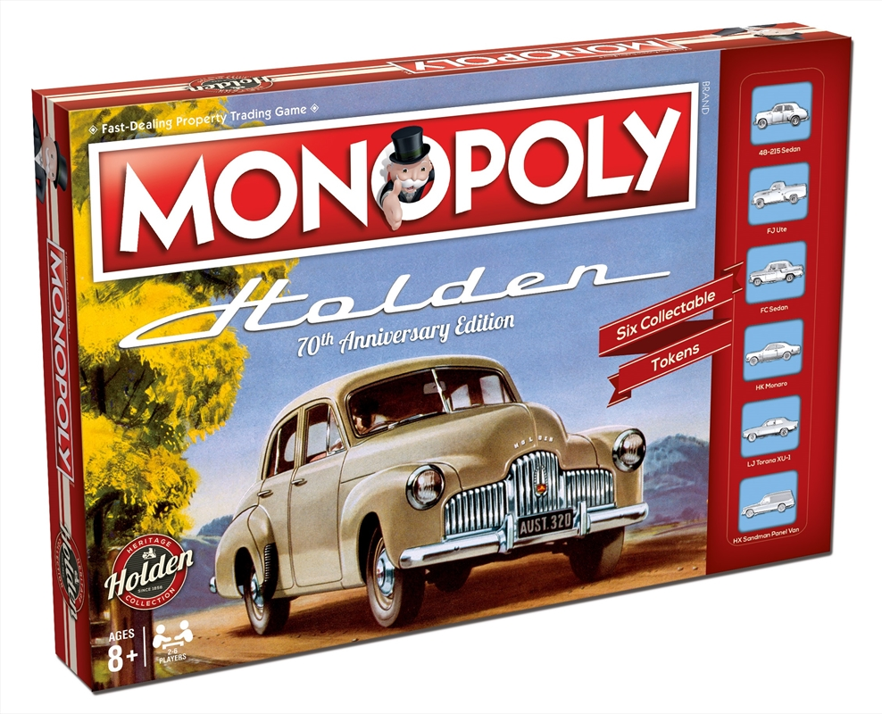 Monopoly - Holden Heritage | Merchandise