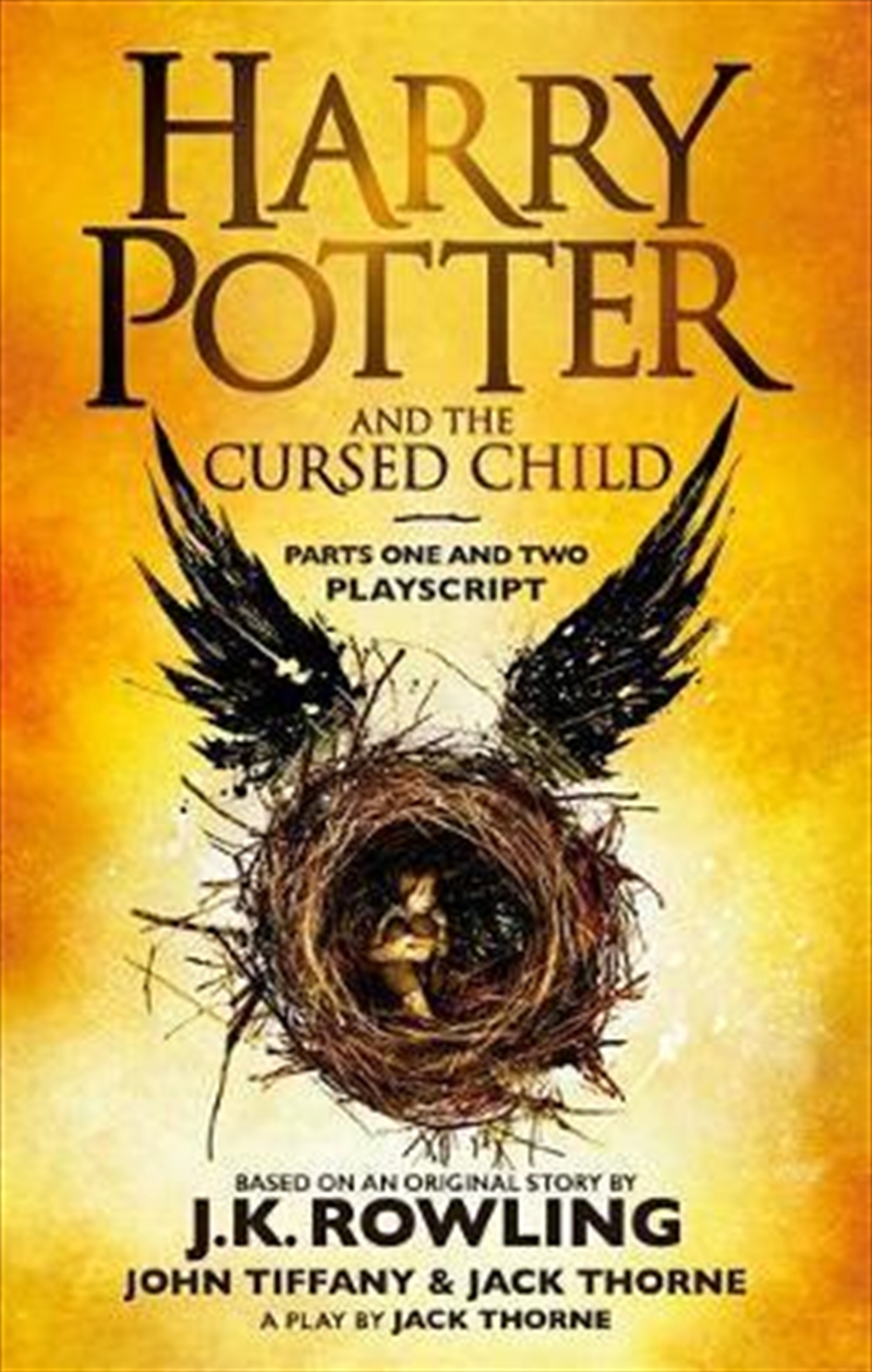 Harry Potter and the Cursed Child - Parts One and Two (Special Rehearsal Edition) | Paperback Book
