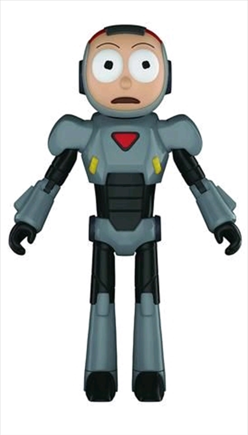 Rick and Morty - Morty Purge Suit Action Figure | Merchandise