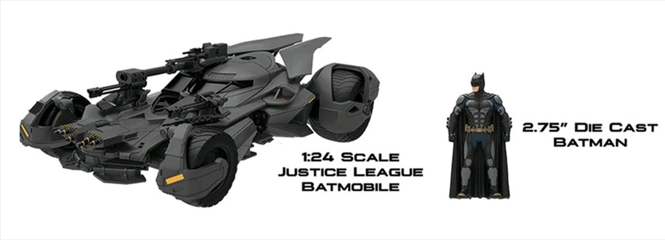 Justice League Movie - Batmobile 1:24 | Merchandise