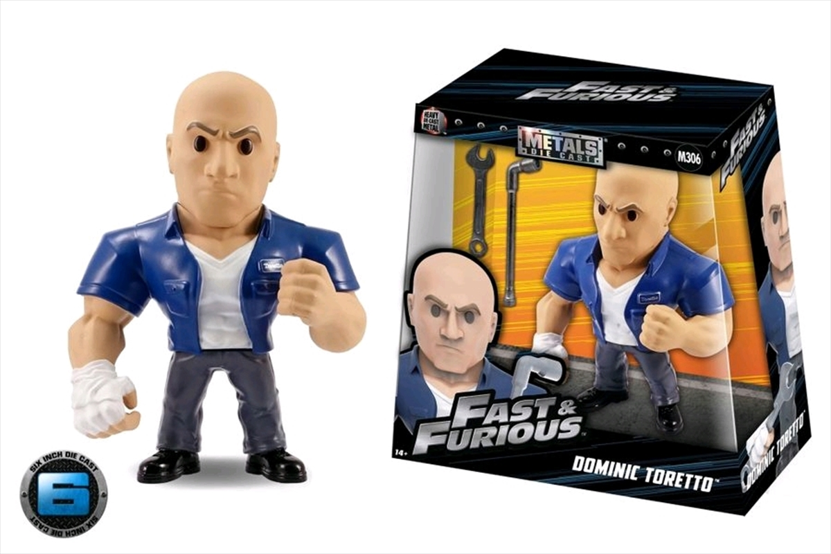 "The Fast and the Furious - Dom Toretto with Wrench 6"" Metals 