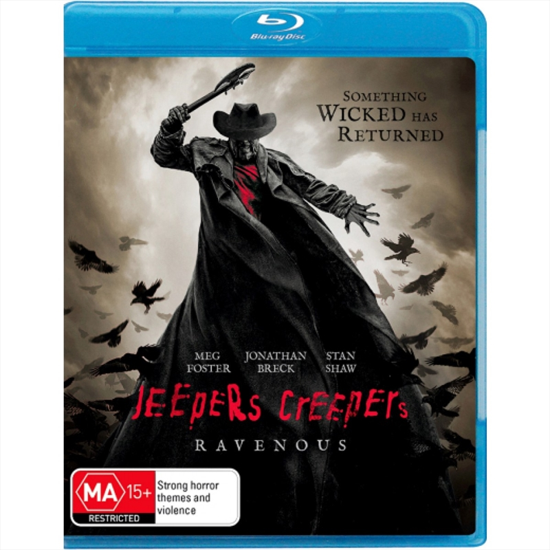Buy Jeepers Creepers - Ravenous on Blu-Ray | Sanity Online