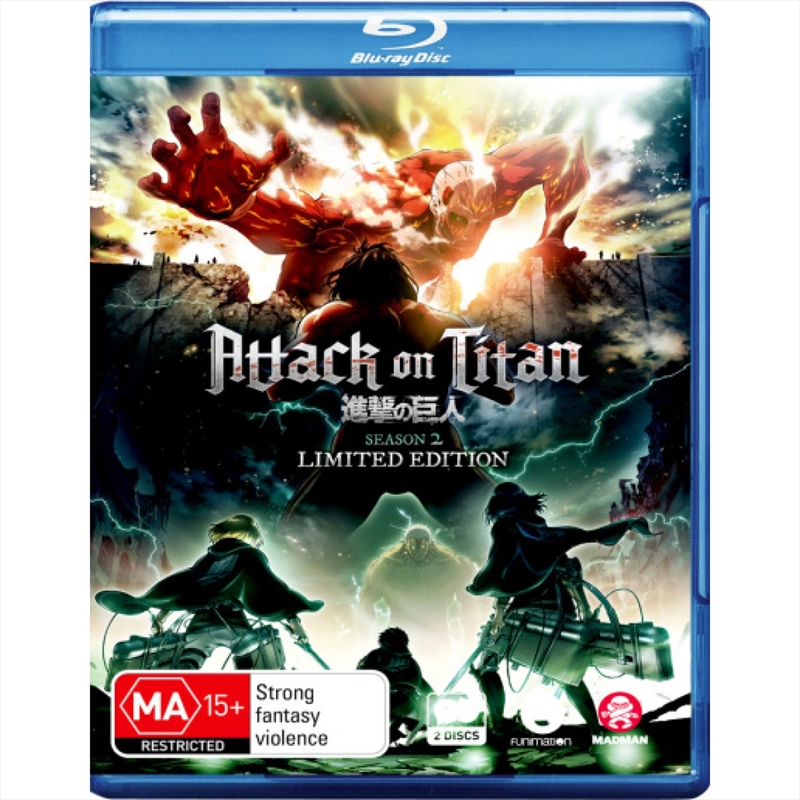 Buy Attack On Titan - Season 2 - Limited Collector's ...