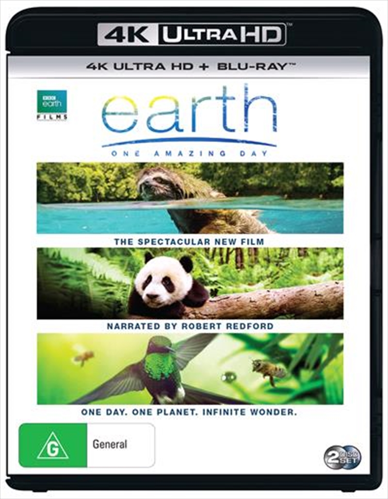 Earth - One Amazing Day | Blu-ray/Digital/Hd