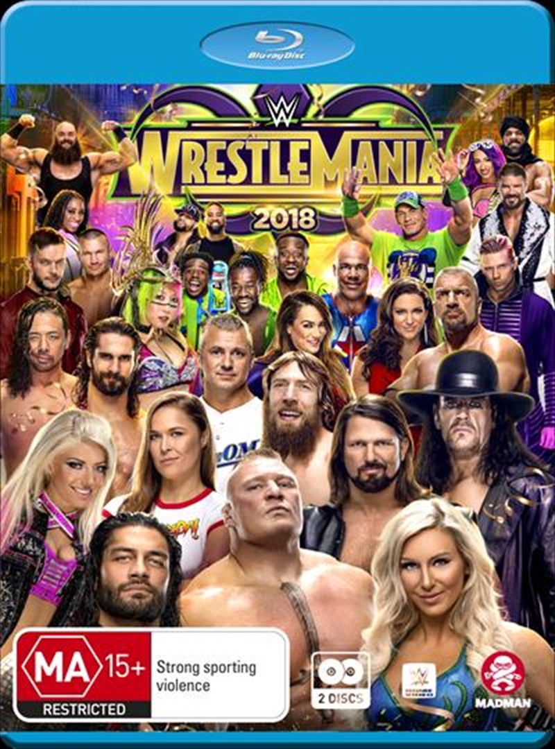 WWE - Wrestle Mania 2018 | Blu-ray