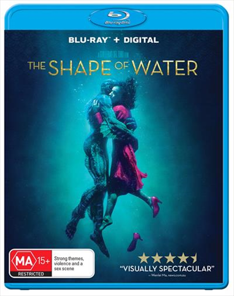 Shape Of Water, The | Blu-ray/Digital/Hd