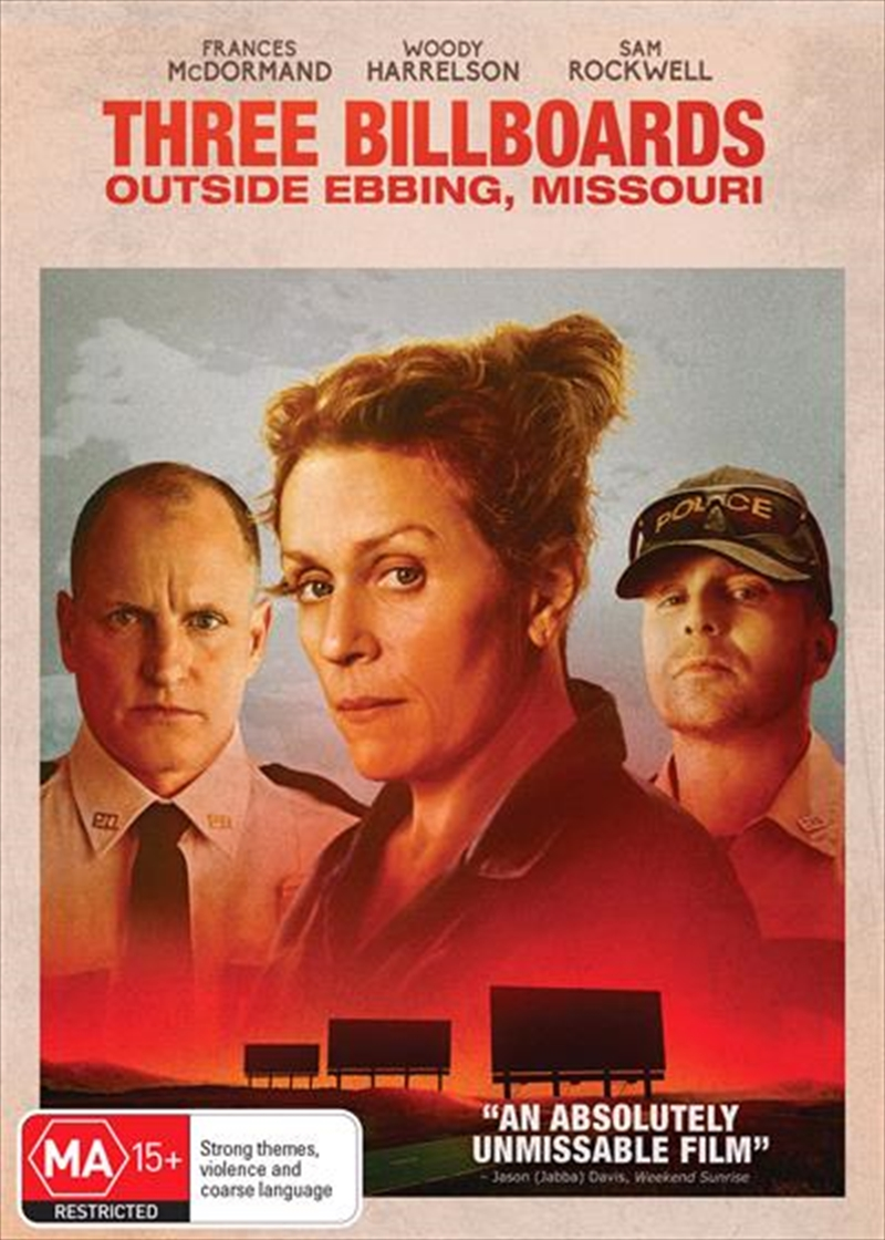 Three Billboards Outside Ebbing, Missouri | DVD