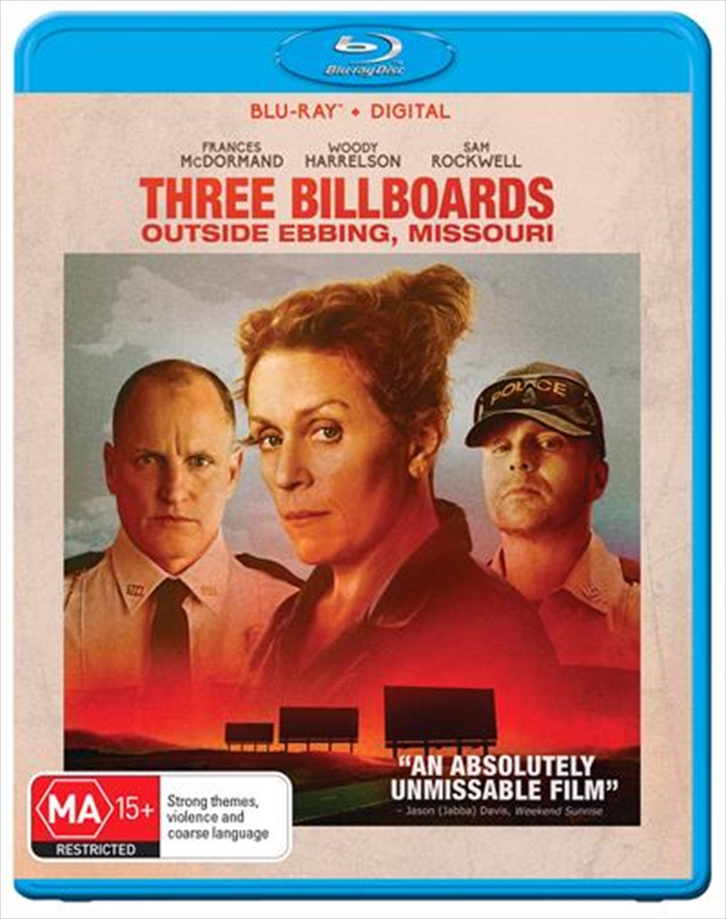 Three Billboards Outside Ebbing, Missouri | Blu-ray