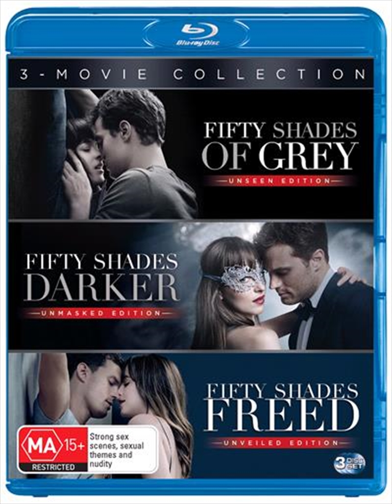 Fifty Shades Of Grey / Fifty Shades Darker / Fifty Shades Freed | Blu-ray