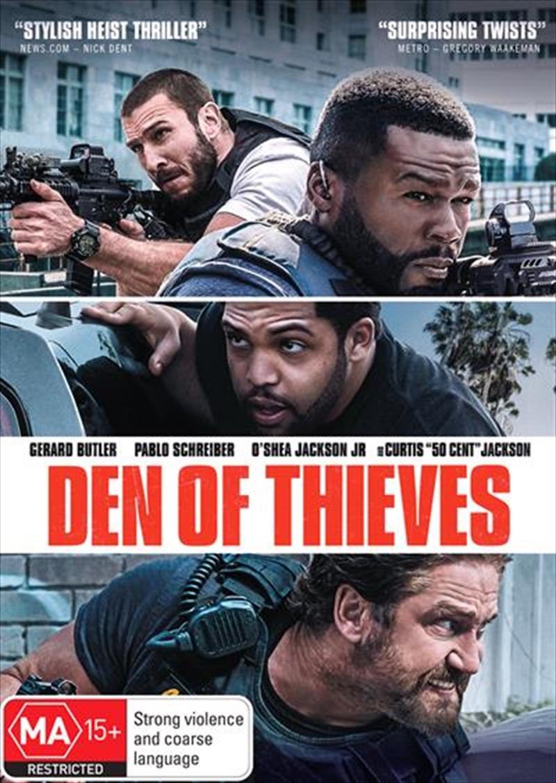 Den Of Thieves | DVD