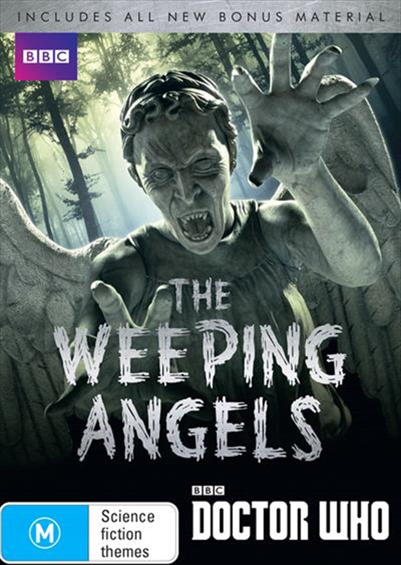Doctor Who - The Weeping Angels   DVD