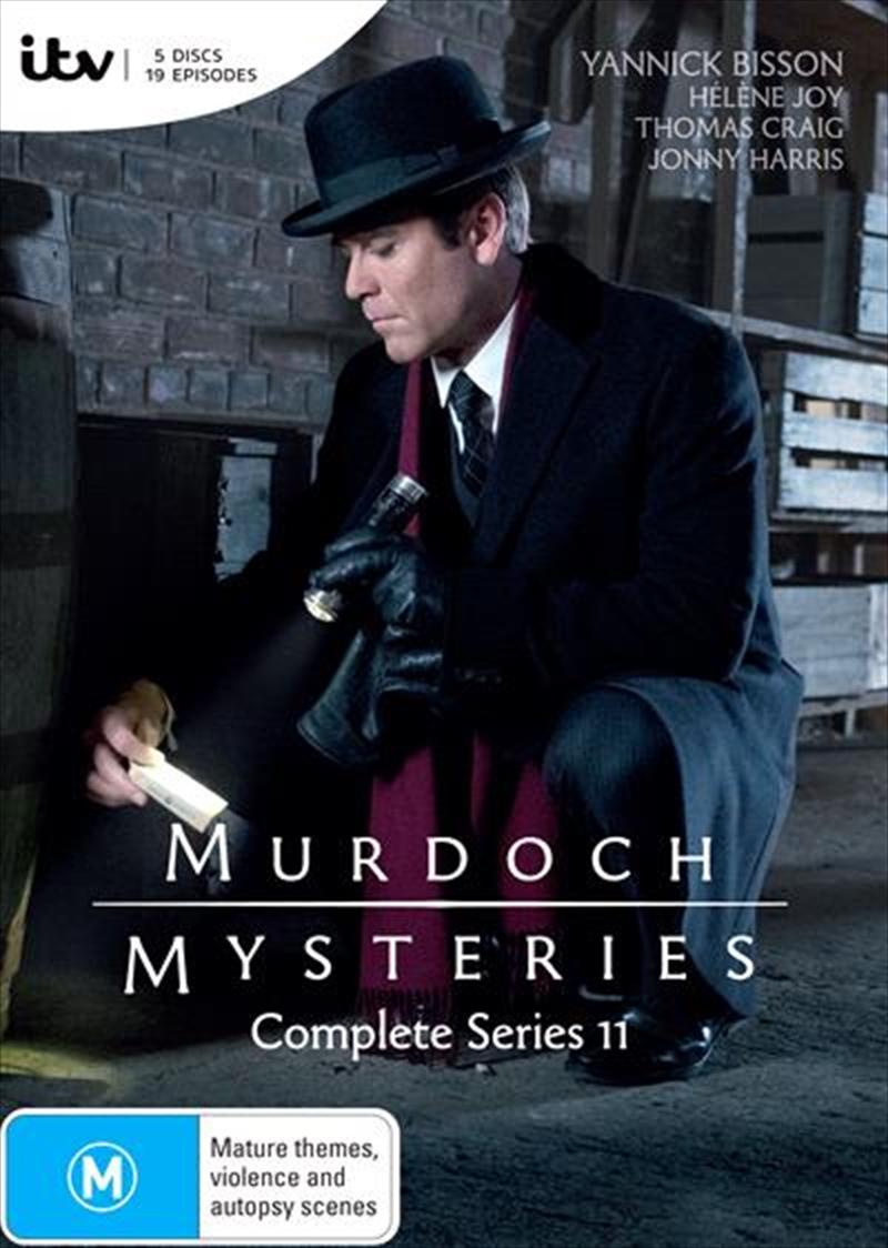 Murdoch Mysteries - Series 11 | DVD