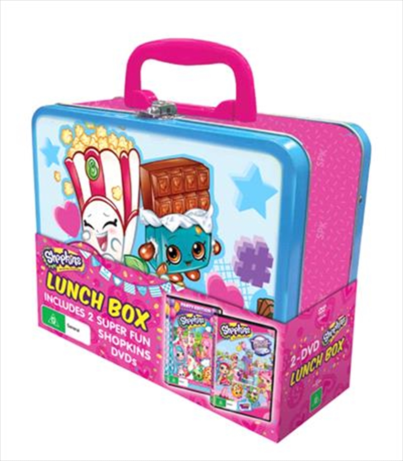 Shopkins - Chef Club - Party Edition / World Vacation   Lunchbox Pack   DVD
