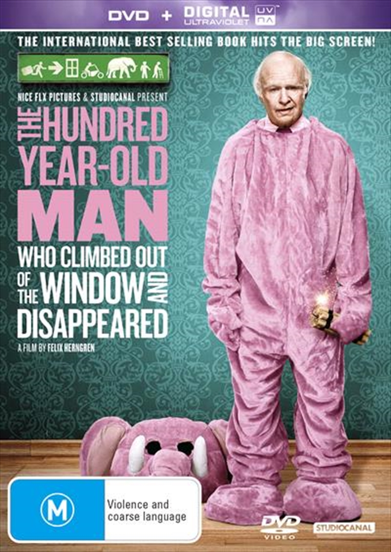 Hundred-Year-Old Man Who Climbed Out The Window And Disappeared, The (100) | DVD