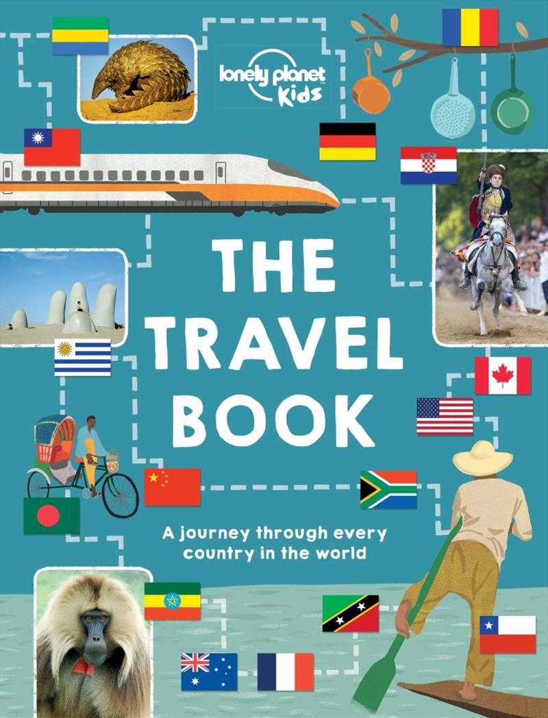 The Travel Book - Mind-Blowing Stuff on Every Country In The World   Hardback Book